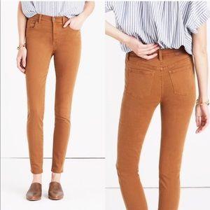 "Madewell 9"" High Riser Skinny Skinny Jeans Size 30"